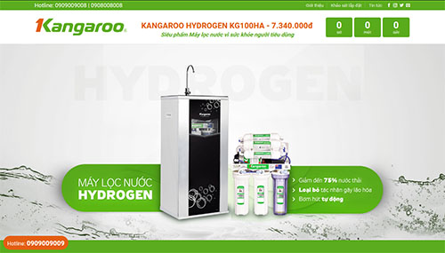 Mẫu Website Hydrogen