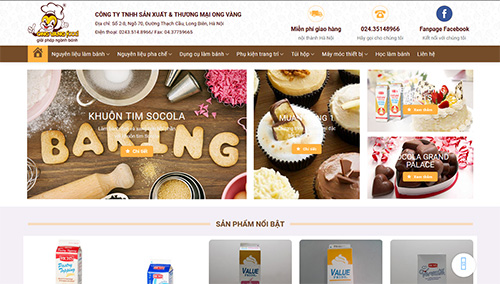 Cake Shop Website